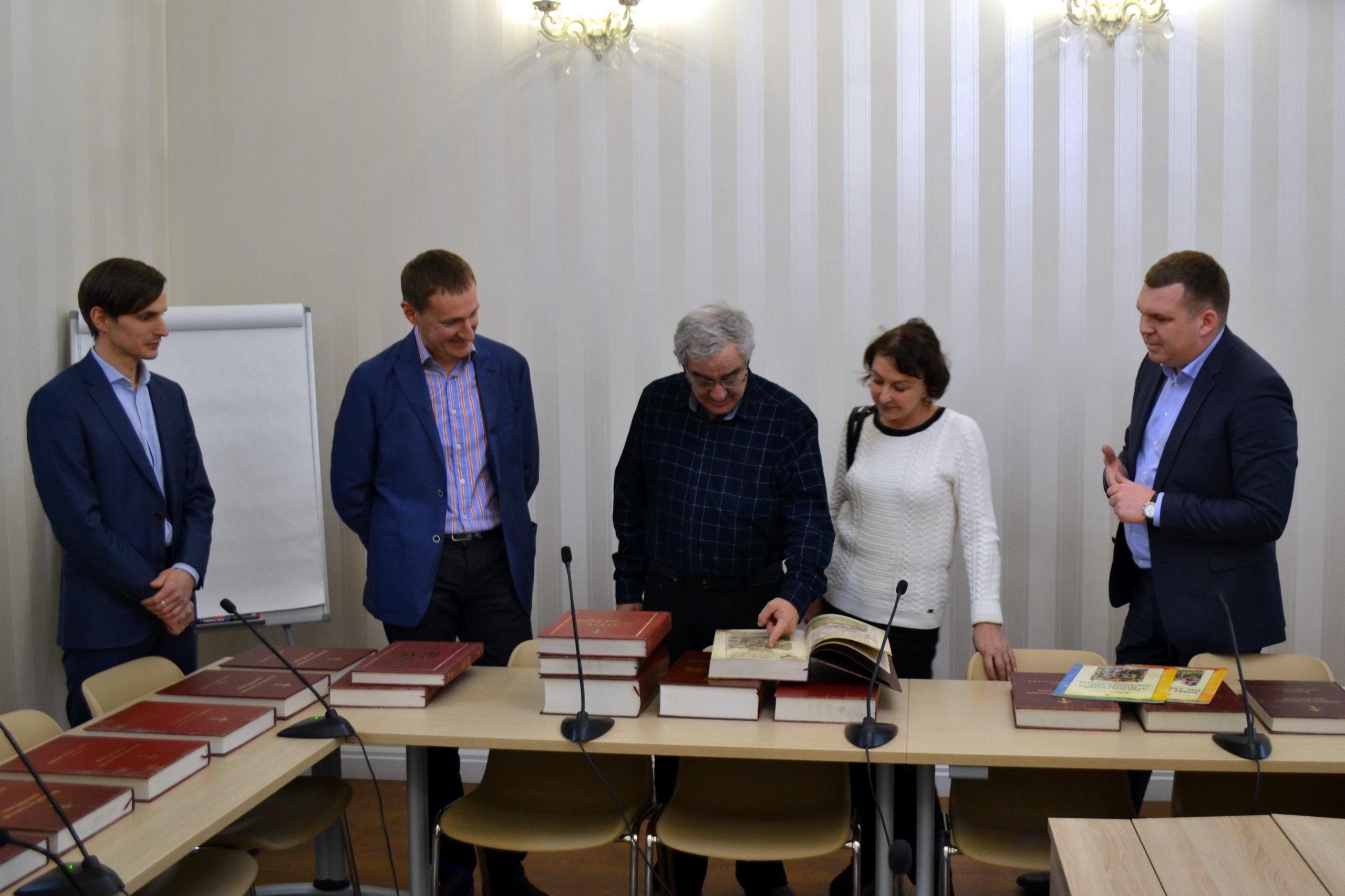 Встреча с М.С. Казиником